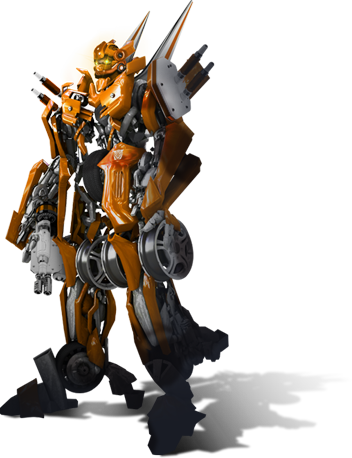 transformer naranja
